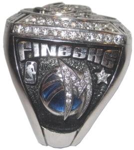 Fineske Mavericks Championship Ring